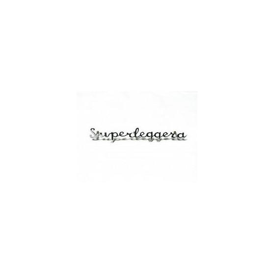 Scritta corsivo Superleggera