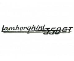 Lamborghini 350gt inscription