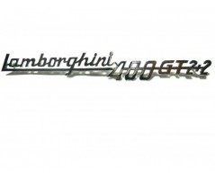 Lamborghini 400 GT lettering